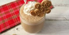 7. #Coconut Gingerbread #Smoothie - 7 Lip-Smacking #Gingerbread Recipes That Are Actually #Pretty Healthy for You ... → Food #Recipes