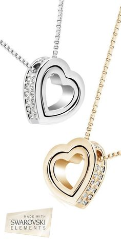 This Mother's Day shine bright with this Stunning Swarovski Elements Interlocking Heart Necklace - Save 92% off now only $10 - Sale ends April 23rd 2015 @ 12:00 pm.