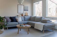 YKSI SOHVA - KOLME TYYLI? Sofa, Couch, Living Rooms, Sweet Home, Nice, Furniture, Home Decor, Living Room, Lounges