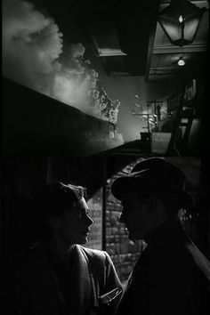 Celia Johnson & Trevor Howard in Brief Encounter (1945) ... must be one of the most poignant romantic films of all time.