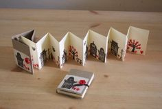 These dutch houses never get boring. Spring in the city – hand stamped concertina book These dutch houses never get boring. Spring in the city – hand stamped concertina book… Concertina Book, Accordion Book, Book Sculpture, Handmade Books, Handmade Notebook, Paper Book, Book Folding, Book Projects, Altered Books