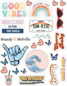 VSCO stickers Sheet