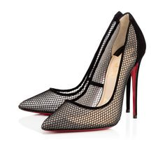 Christian Louboutin Follies Resille 120MM Black Fishnet Women Sky-High Pumps - $135.00 http://www.lhbon.com/christian-louboutin-follies-resille-120mm-black-fishnet-women-skyhigh-pumps-p-2765.html