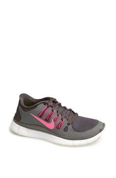 Nike 'Free 5.0' Running Shoe (Women) available at #freerun50 com In black & pink