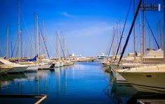 Port Yasmine Hammamet. Located in the SE of the Northern peninsula of Cap Bon, on the northern edge of the Gulf of Hammamet. ©2015 Adam Tas Images This is a good place to stop if heading westwards and fighting N/NW winds. There is a very good boatyard here. #adamtasimages #adamtas #adam_tas #photography #travel #sailing