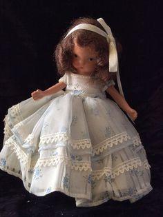 Cute Vintage #153 Little Bo Peep nancy ann storybook dolls bisque #Dolls