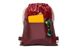 Cool Backpack Red Bag School Backpack Womens Bags by SneakyTeaky