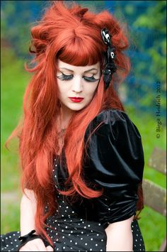 gorgeous hair. Yesterday von Birgit Heidrich