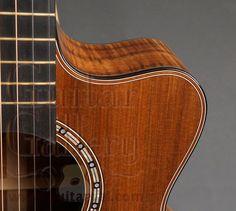 Claxton Guitar: 2012 EM Koa Cutaway - SOLD