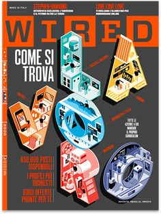 Wired Italy - The Job Issue [cover + animation] on Behance