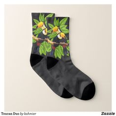 Toucan Duo Socks