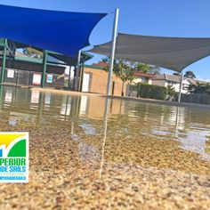 Looking So Cool 💦❄️ We recently installed DUAL HYPERBOLIC SHADE SAILS for this beautiful pool in Tingalpa using the Extreme 32 Blue and Silver.  The Extreme 32 not only performs excellently in harsh conditions but also provides impressive UVR protection (up to 95.8%).  Call us a for a FREE Measure & Quote on 📞1300MYSHADESAILS or 0429 220 298   Shade Sail Installation, Pool Shade, Shade Sails, Beautiful Pools, Gold Coast, Brisbane, Blue And Silver, Swimming Pools, Sailing
