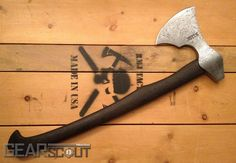RMJ Forge Viking Axe - I'd love this for camping!