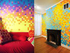 10 ideias criativas e muito baratas para decorar a parede (sem tinta) | SOS Solteiros