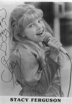Kids Incorporated. Stacy Ferguson (now Fergie)