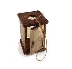 Wooden Medieval Lantern with a door by TabernaVagantis on Etsy Camping Lights, Diy Camping, Larp, Tudor Decor, Vikings, Archaeology For Kids, Medieval Crafts, Campaign Furniture, Medieval Life
