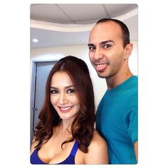 Spent the day with the #beautiful @krisbernal today!