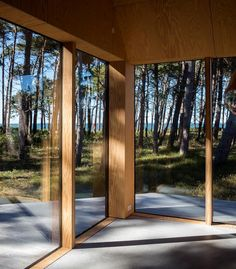 Cottage designed by RUBOW architects Scandi Home, Scandinavian Home, Cottage Design, House Design, Plywood Design, Modern Tiny House, Outside Living, Cabins And Cottages, Concept Home