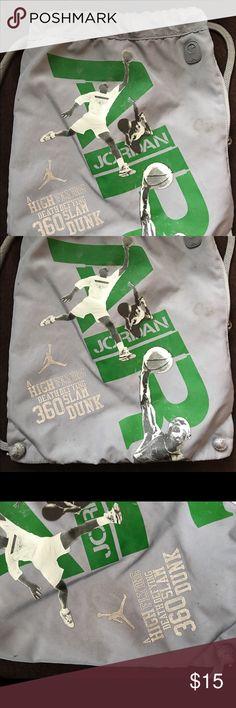 Men's Michael Jordan back pack book bag Preowned Jordan Other