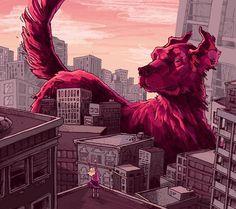Clifford the Big Red Dog by Drew Bardana