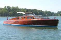 POSH Hacker boats built in was a commuter yacht equipped with a 6 cylinder Packard engine Wooden Speed Boats, Boating Holidays, Classic Wooden Boats, Boat Fashion, Cabin Cruiser, Vintage Boats, Float Your Boat, Old Boats, Canoe Trip