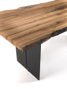 Riva 1920, made in Italy: Natura Briccola table, project by C.R. & S. Riva.