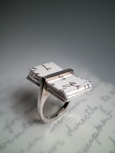 creative and unusual ring <3