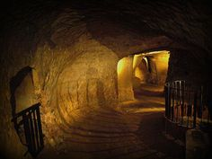 Navigate Nottingham's Caves - Beneath Nottingham lies a network of over 450 caves that were once as buzzing as the city centre is today. You can take them in at your leisure at both the Malt Cross and Hand & Heart pubs or take an official tour with City of Caves.