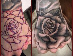 #hand #tattoos #handtattoos