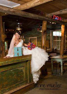 cute bridal portrait