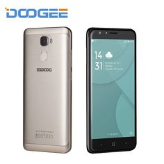 DOOGEE Y6 MTK6750 Octa Core Fingerprint Mobile Phones 5.5 Inch HD ROM 16G RAM 2G Android 6.0 Smatphone 13 MP Celllphone