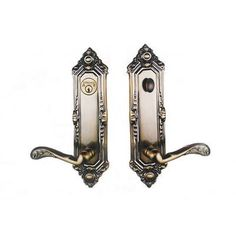 Double Hill USA Viceroy Dummy Entrance Leverset Handing: Left, Finish: Pewter