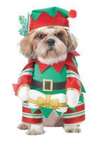 ZJX cat Christmas Costumes Dog Suit with Cap Santa Suit Dog Hoodies Elf Pup Dog Costume >>> Special cat product just for you. Cat Christmas Costumes, Pet Halloween Costumes, Pet Costumes, Dog Halloween, Christmas Outfits, Adult Costumes, Christmas Suit, Unicorn Costume, Animals