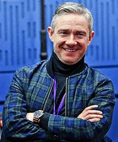 "love-in-mind-palace: """"Martin Freeman at BBC Radio 4 Loose Ends [HQ] "" """