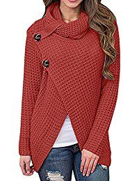 Daomumen Maternity Pullovers Women's Casual Pregnant O-Neck Cotton Nursing Up Long Sleeve Knit Sweaters Best Winter Coats USA Long Sweaters, Pullover Sweaters, Sweaters For Women, Knit Sweaters, Casual Maternity, Knit Wrap, Wrap Sweater, Cotton Sweater, Cute Outfits