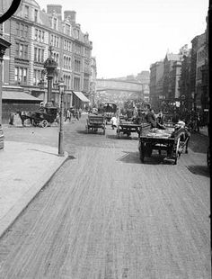 Borough High Street, Southwark, London in 1870