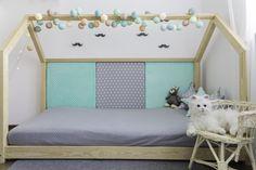Kinderbetten - Kinderbett/Traumhaus 120x200cm + 4 Paneele - große - ein Designerstück von Mia-and-Lou bei DaWanda