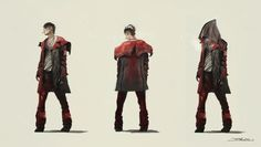Devil May Cry // Concept Art // By Unknown