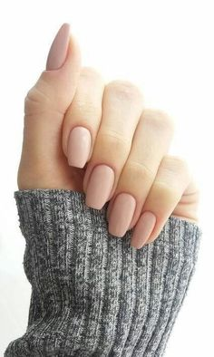 Nail Polish 37 Super Trendy Nail Art Idee für kurzes Nageldesign How To Deal With Hair Growth? Acrylic Nails Nude, Nude Nails, My Nails, Matte Nails, Matte Pink, Acrylic Nail Shapes, Acrylic Art, Shapes Of Nails, Acrylic Colors