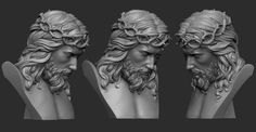Jesus Christ Statue, Statue Tattoo, 3d Printing Diy, Jesus Face, Wood Carving Tools, Jesus Cristo, Wood Sculpture, Sculpting, Catholic