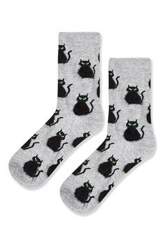 Fluffy Cat Ankle Socks