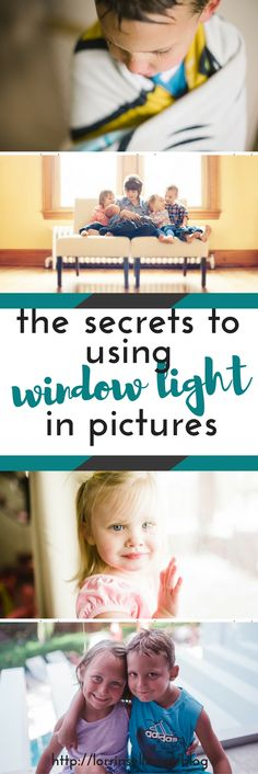 i love using window light in my pictures.  great tips for using natural light indoors in your pictures