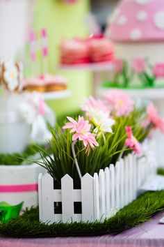 Butterfly Garden Themed Birthday Party {Ideas, Supplies, Decor}