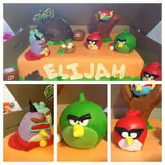 Angry Birds Space Cake