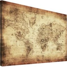 Lindy allen found this map poster on amazon for 1 and thought of columbus world map canvas print gumiabroncs Gallery