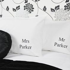 Personalised  Mr And Mrs  Wedding Pillowcases 5c67c71be9922