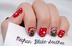 Christmas Nail Art Pinterest