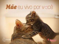 Mãe, eu vivo por você. #Maes #FelizDiaDasMaes #DiaDasMes