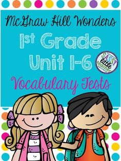 To meet common core standard L.1.4 I created these vocabulary tests. Each week includes seven questions assessing the seven vocabulary words. Included are Units 1-6! Hope these help you greatly! Enjoy! :)*********************************************************************************Check each individual unit for more details!Vocabulary TestsDon't forget to leave feedback in order to earn points toward future purchases! :) Paragraph Writing, Persuasive Writing, Writing Rubrics, Opinion Writing, First Grade Words, Mcgraw Hill Wonders, Reading Wonders, Writer Workshop, Common Core Standards