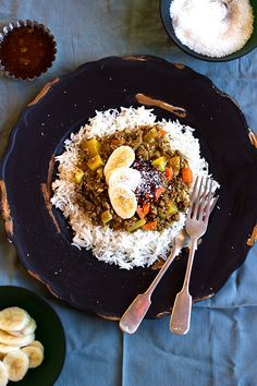 South African Curry and Rice